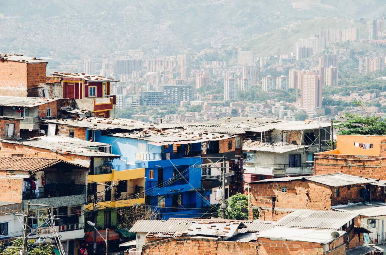 Bogota Colombia City View