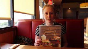 Gluten Free Traveller in Denny's Kona, HI