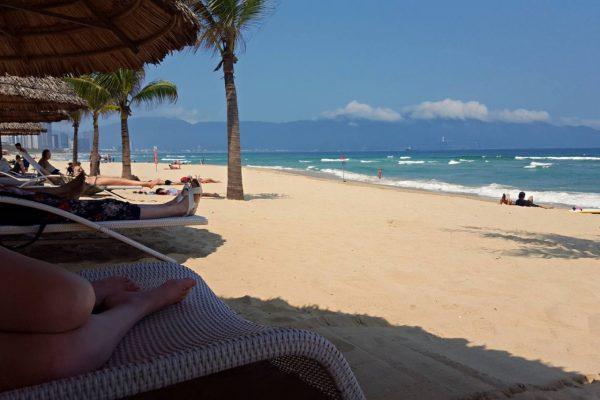 Beach in Da Nang Vietnam