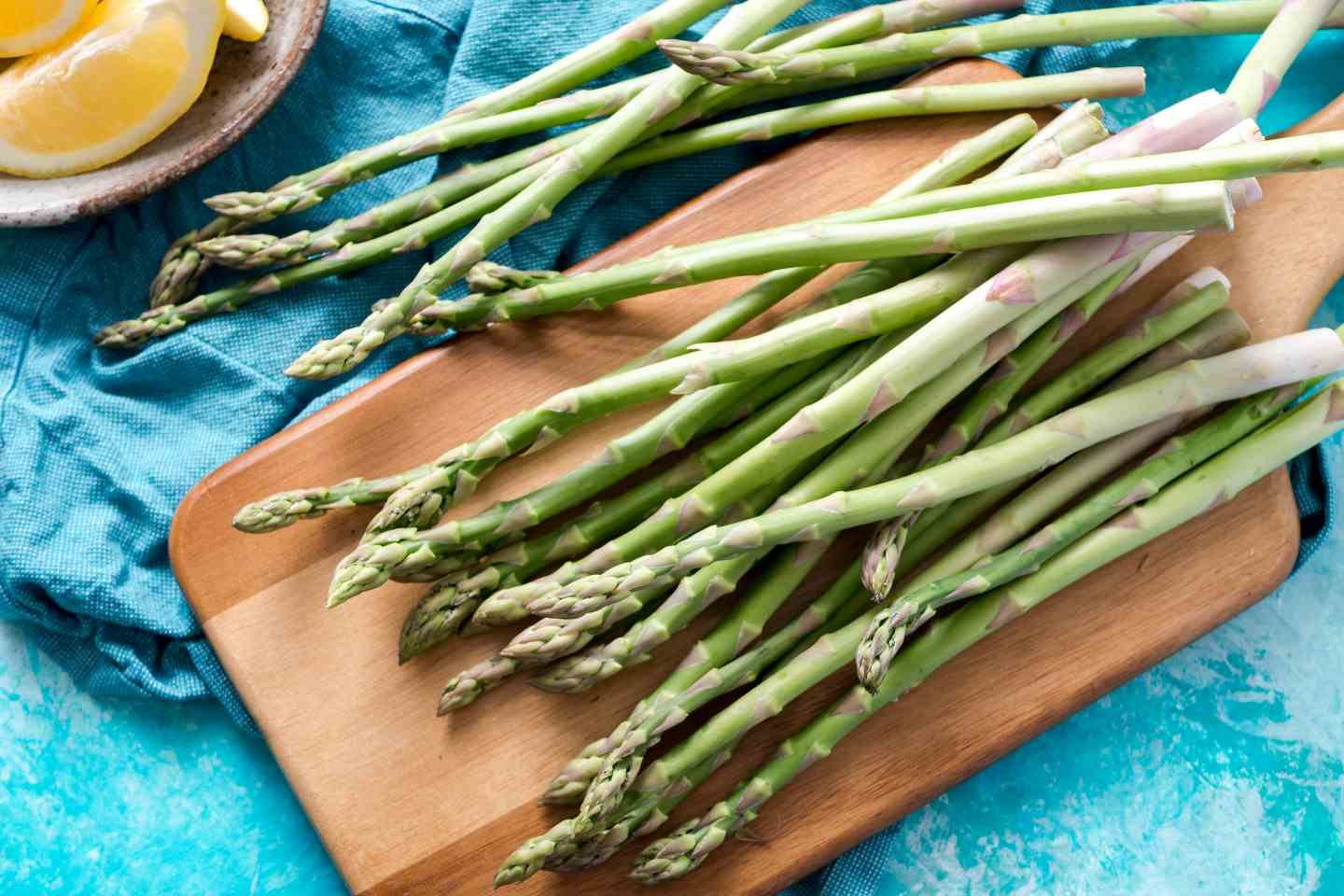 gluten free valentines dinner recipe with asparagus