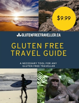 Gluten Free Travel Guide - Cover Page