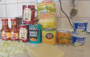 Gluten free casserole ingredients