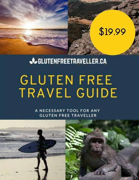 Gluten Free Travel Guide Cover Page