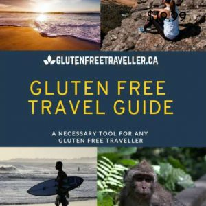 Gluten Free Travel Cover Full Price