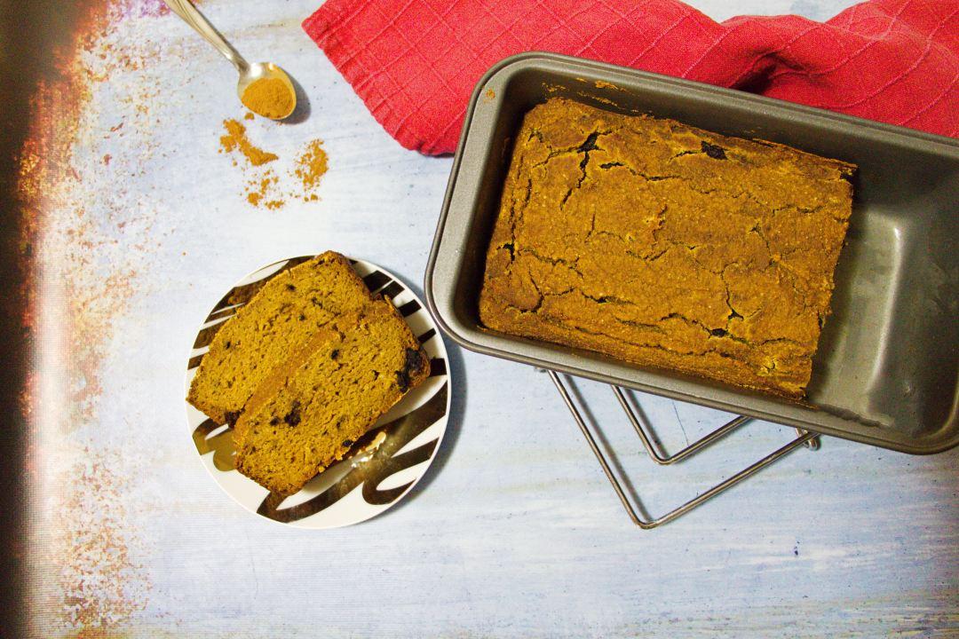 Paleo Pumpkin Loaf