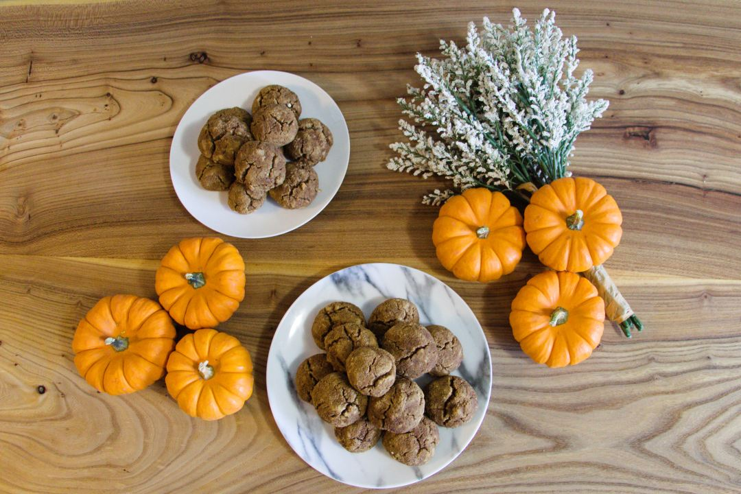 gluten free pumpkin donut holes