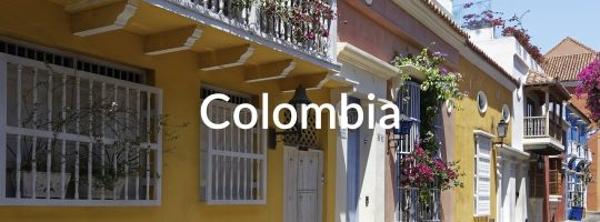 Colonial Archtecture in Colombia