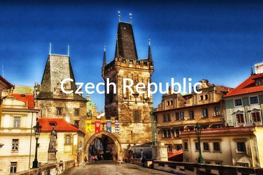 Charles Bridge in Prague Czech Republic