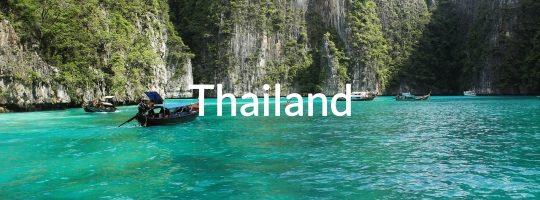 A bay in Thailand