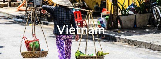 Traditional Sales Woman Vietnam